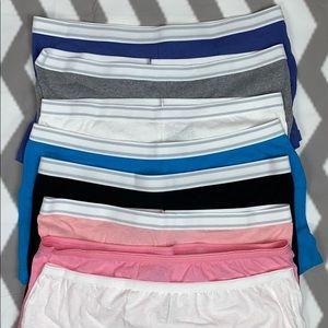 8 Pack of Hanes Boy Shorts Bundle